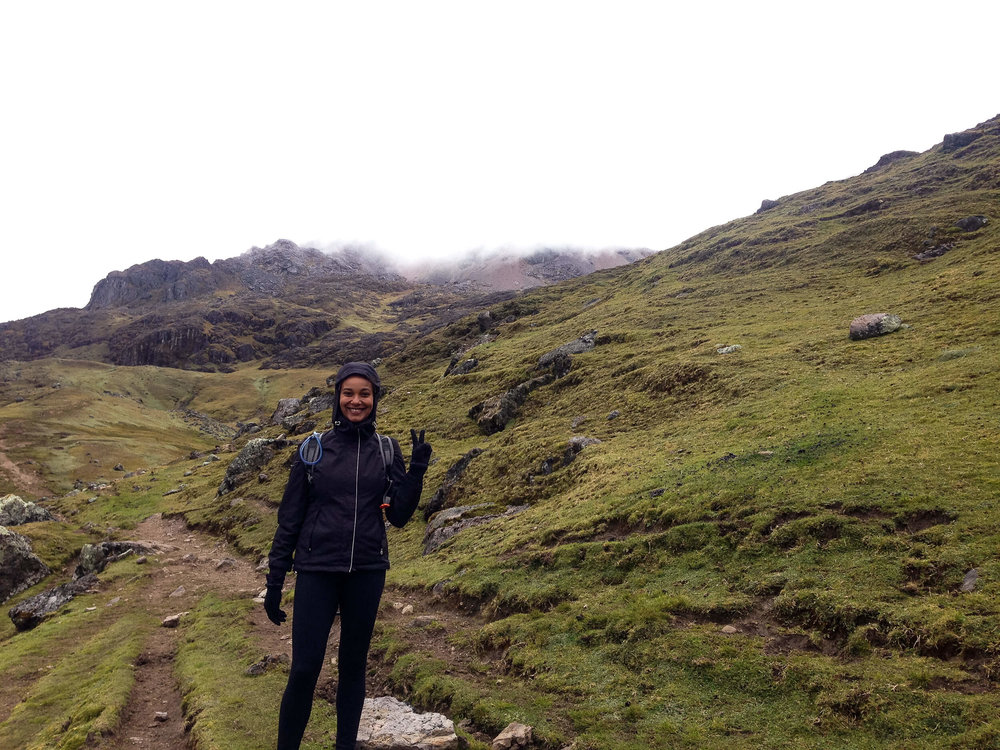 ochristine outdoor travel blogger lares trek