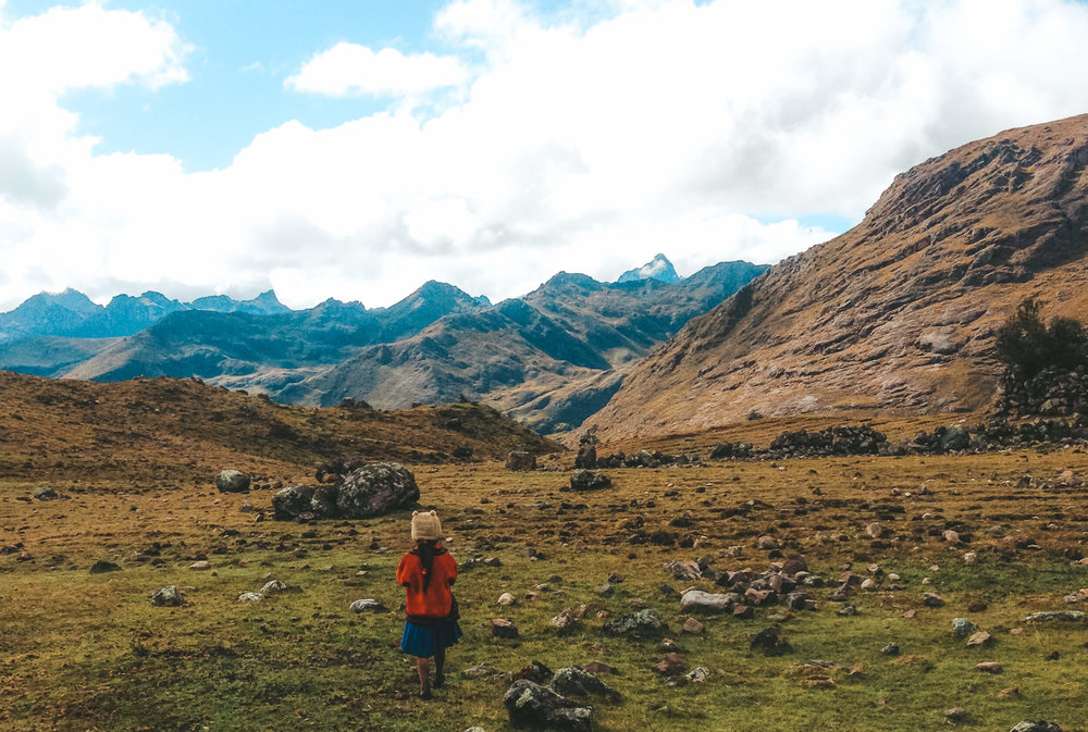 lares trek andes mountains - ochristine