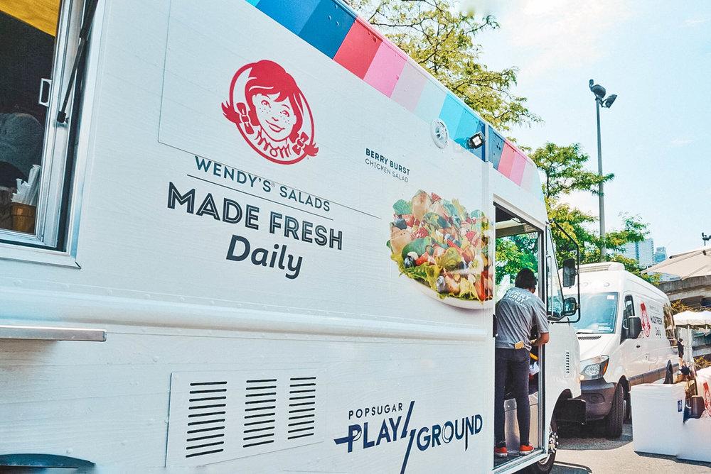 wendys food truck - ochristine