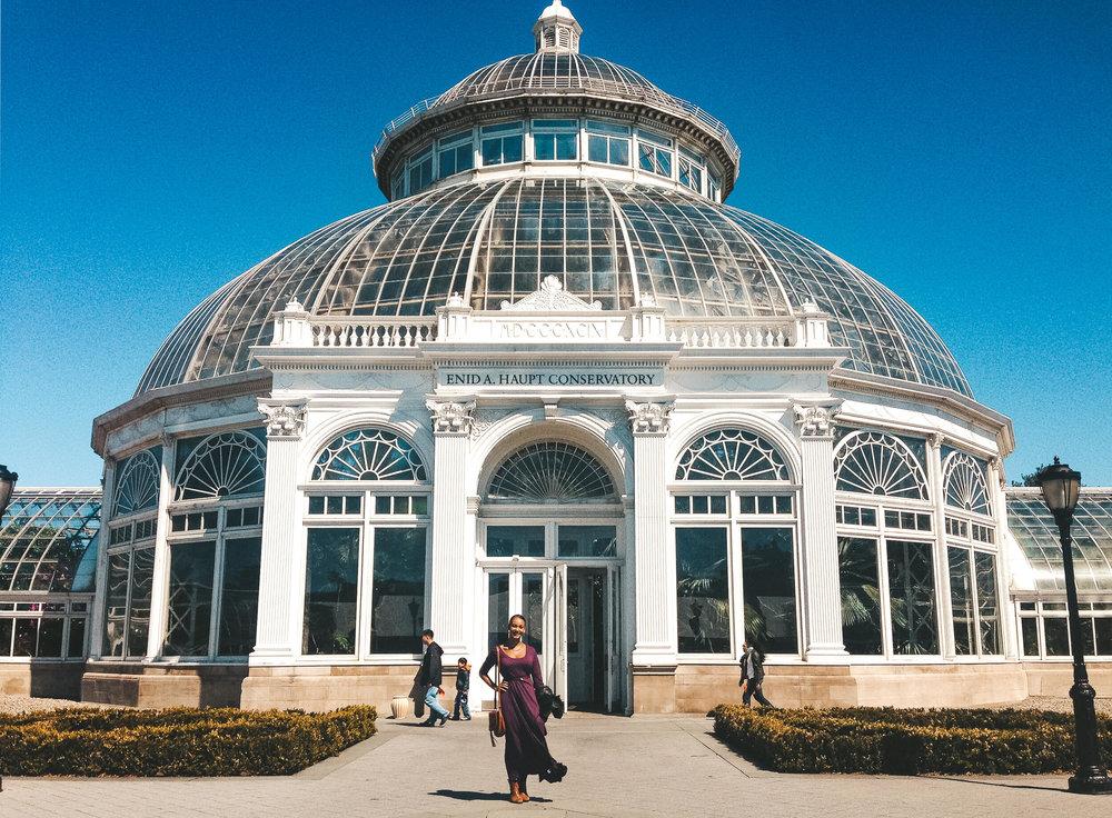 new york botanical garden for free - ochristine