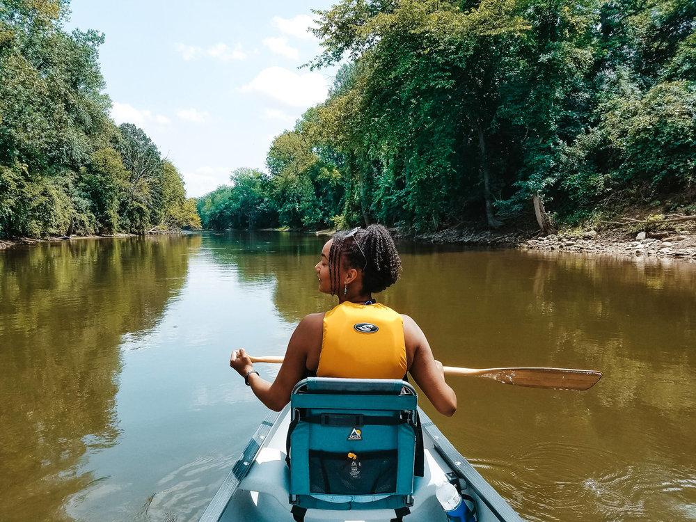 ochristine-canoeing
