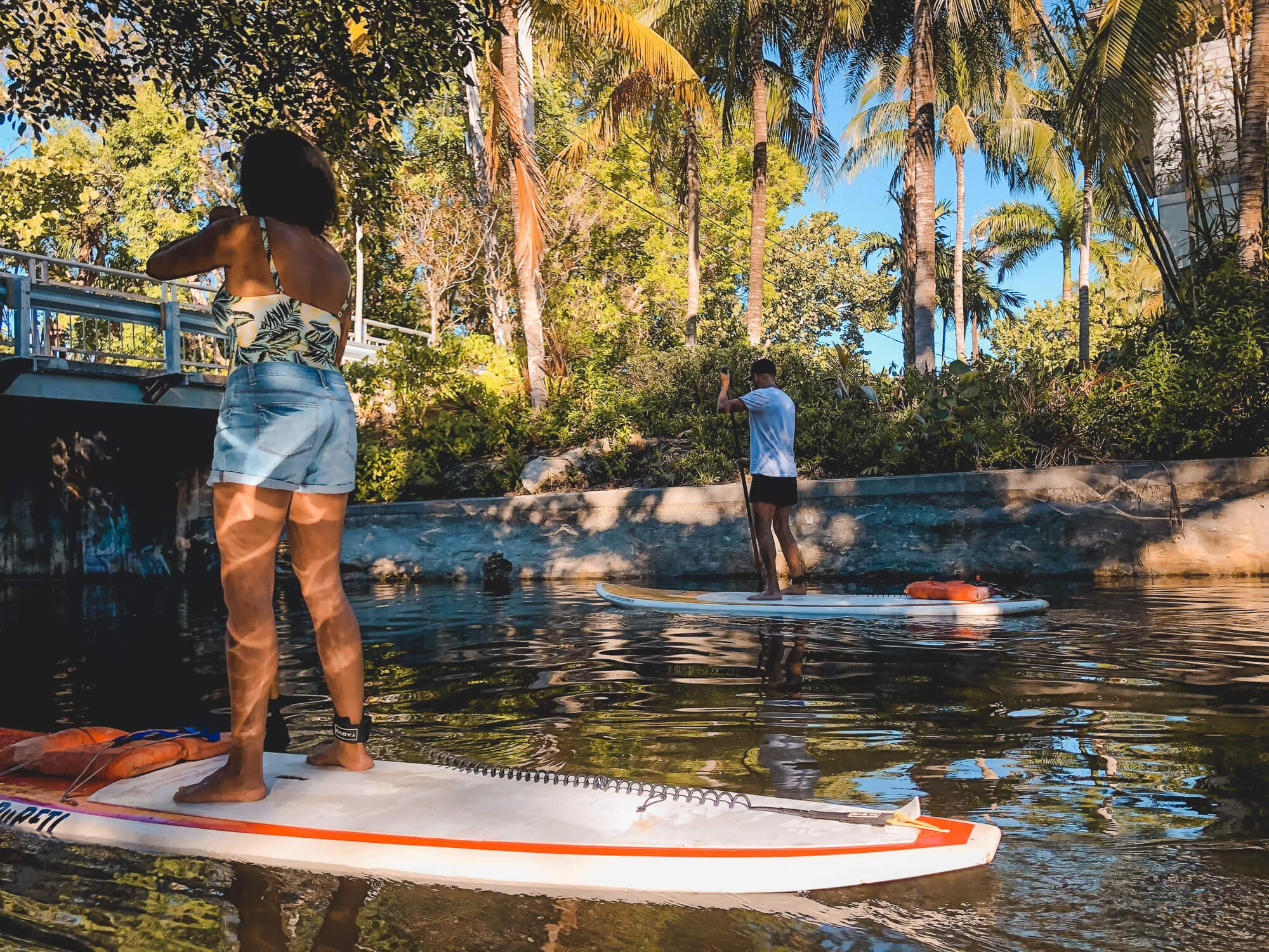 Paddle boarding Fort Lauderdale - ochristine