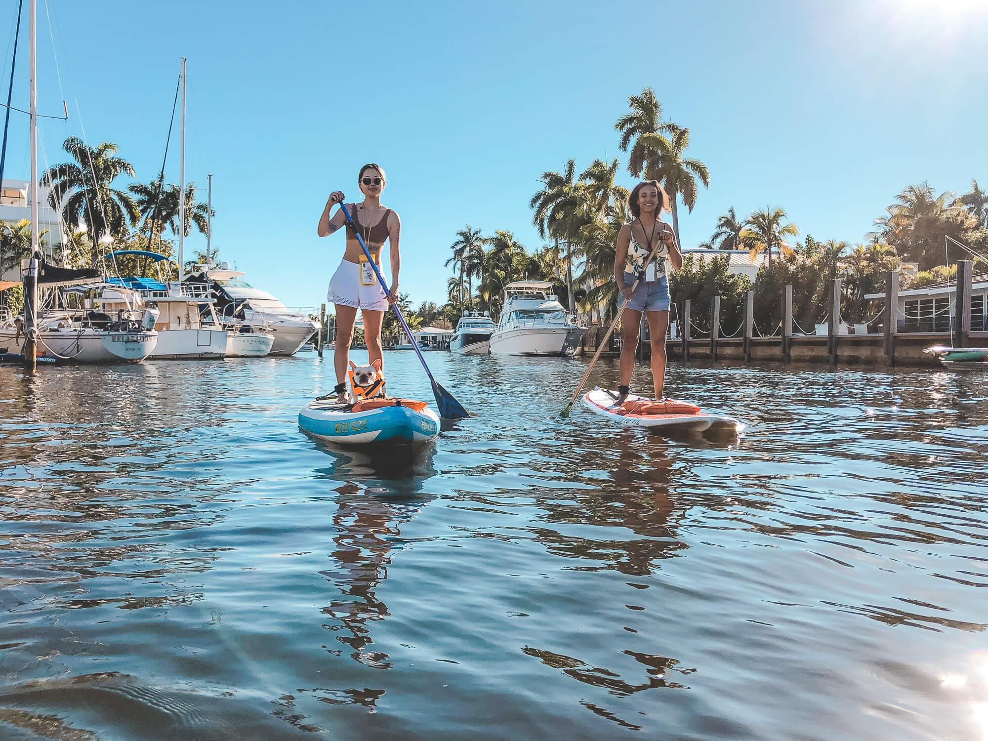 Paddle boarding in Florida - ochristine