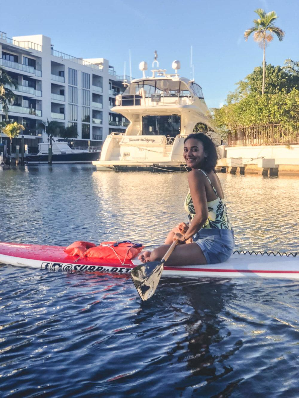 SUP Fort Lauderdale paddle board rentals - ochristine