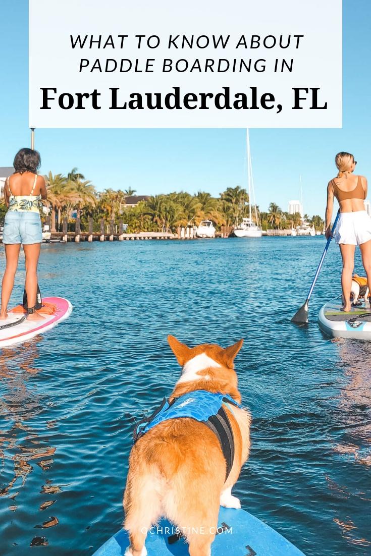 Paddle Boarding Fort Lauderdale Tours - ochristine