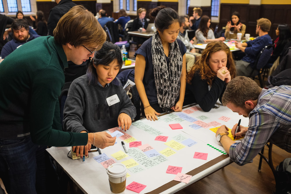 Healthcare Innovation Challenge - In collaboration with Penn Medicine and the Wharton Digital Health Club, the Healthcare Innovation Challenge brings together multidisciplinary groups of students across Penn to work on pressing problems in healthcare today.2018 ⟶
