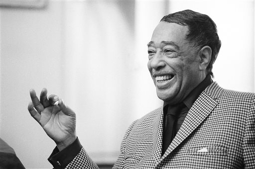 "Musician, composer, arranger and jazz orchestra leader Edward Kennedy ""Duke"" Ellington was born in Washington, D.C. in 1899. He moved to New York in the 1920s and became a central figure in the booming jazz scene after becoming the leader of the house band at Harlem's Cotton Club in 1927. His signature song, ""Take the A Train,"" was a tribute to the attraction and fascination of Harlem's night life."