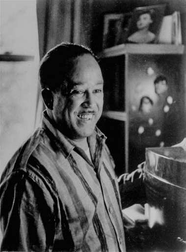 James Mercer Langston Hughes was born in Joplin Missouri in 1902. He moved to New York in 1922 to attend Columbia University. Hughes became captivated by the Harlem community and dropped out of school to became a poet, social activist, playwright, columnist and one of the  leaders of the Harlem Renaissance.