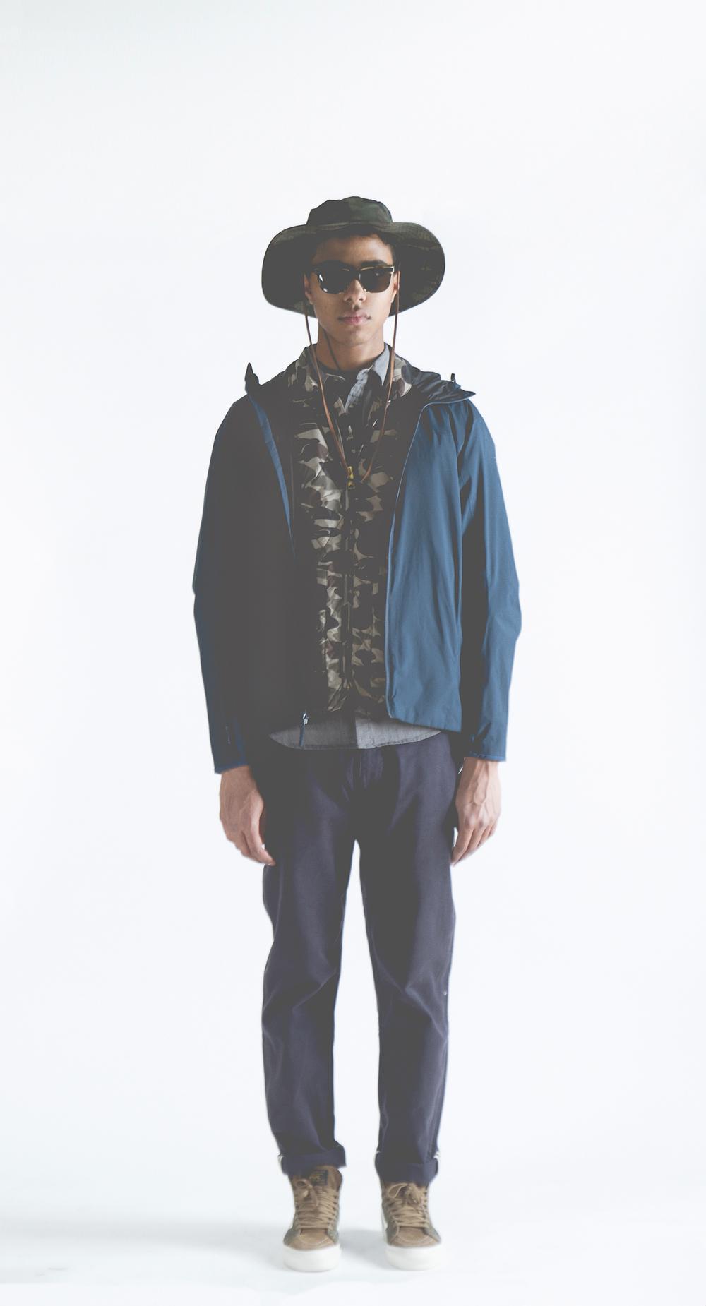 Brixton - Tracker Bucket Hat   Arc'Teryx - Solano Jacket