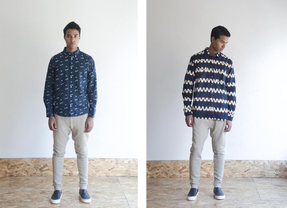 Carhartt Wip Aldux Shirt    Levi's Made & Crafted Luke Shirt