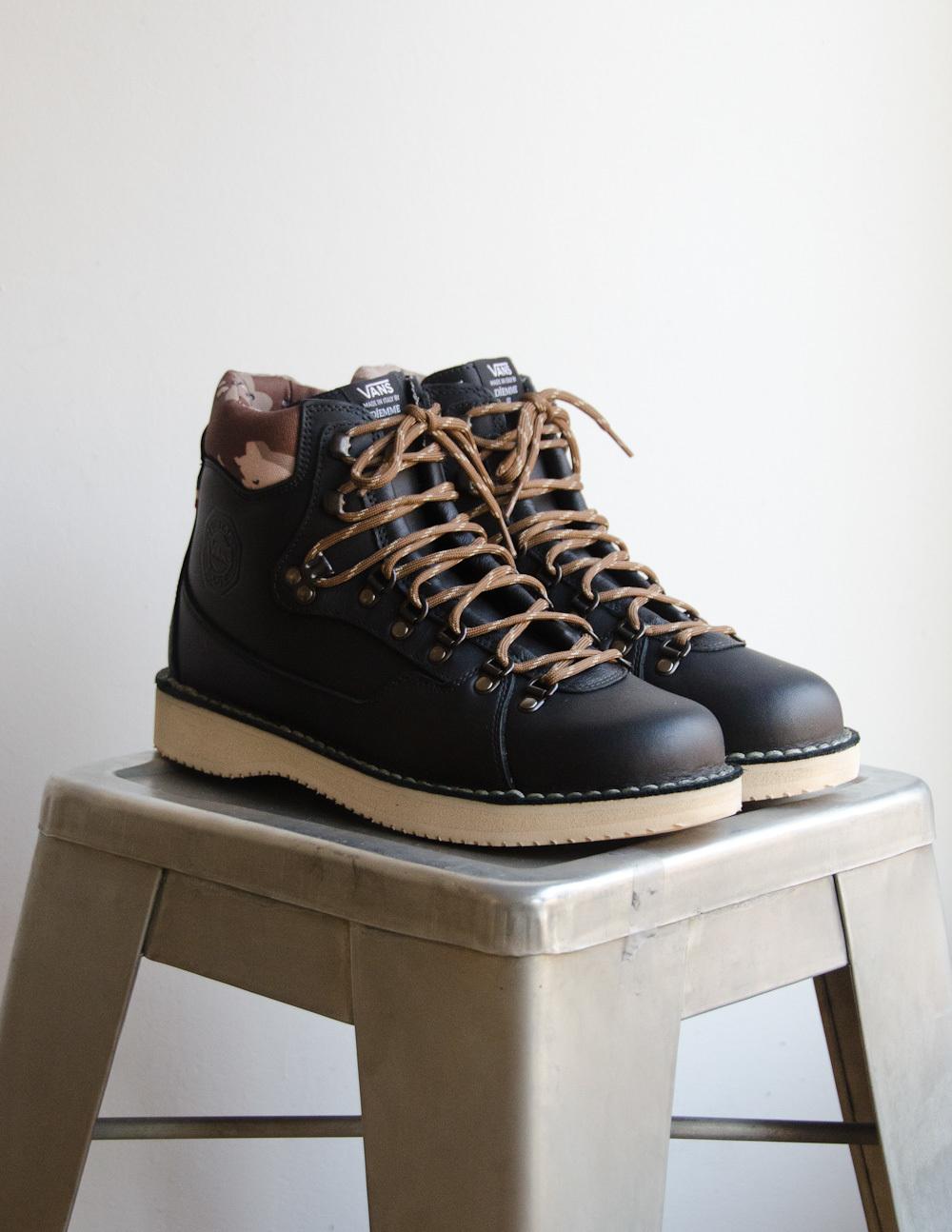 Vans Vault x Diemme – Montebelluna Hiker LX in Black