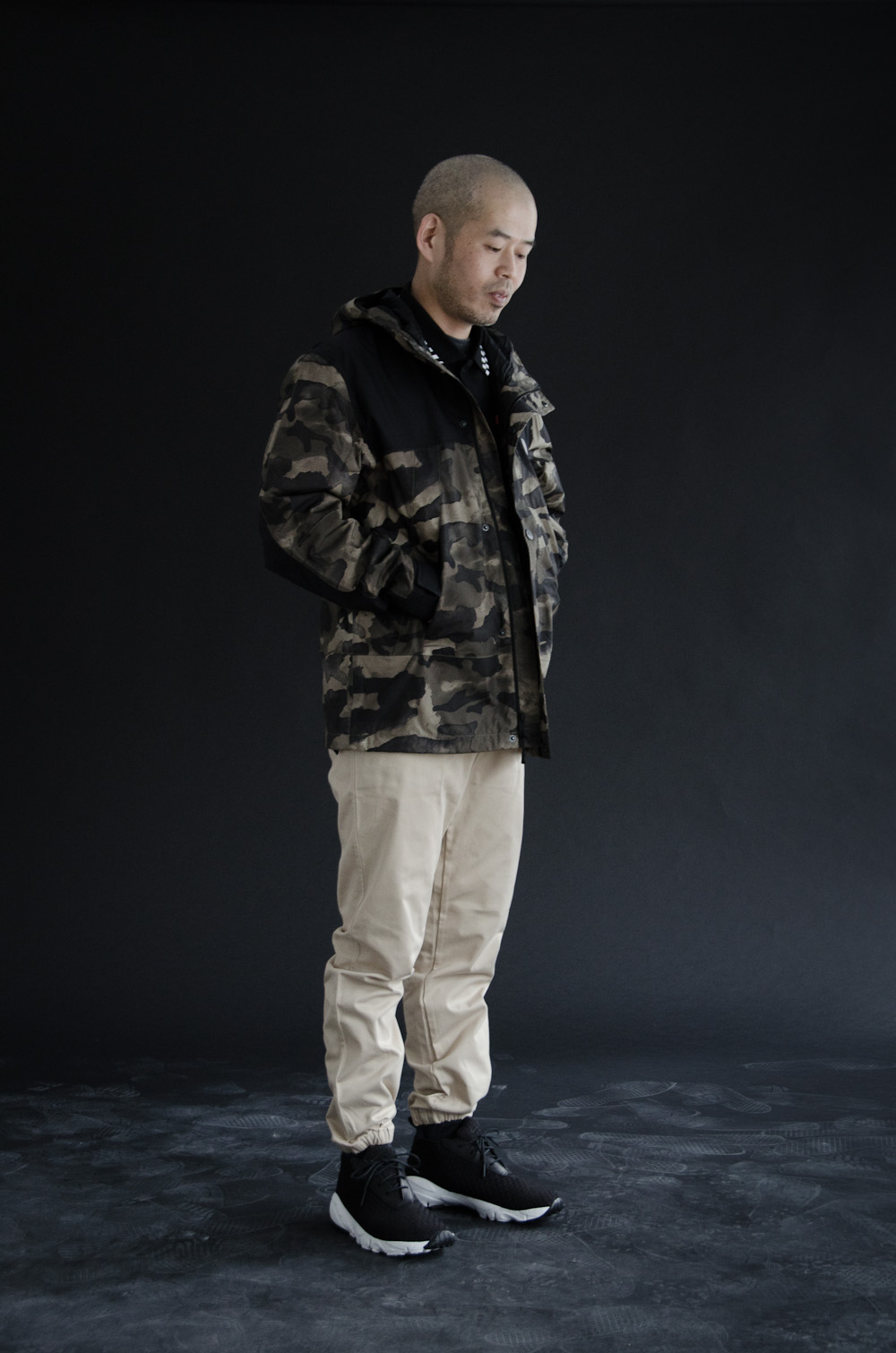 The North Face - Metro Mountain Parka    Muttonhead - Hike Pant