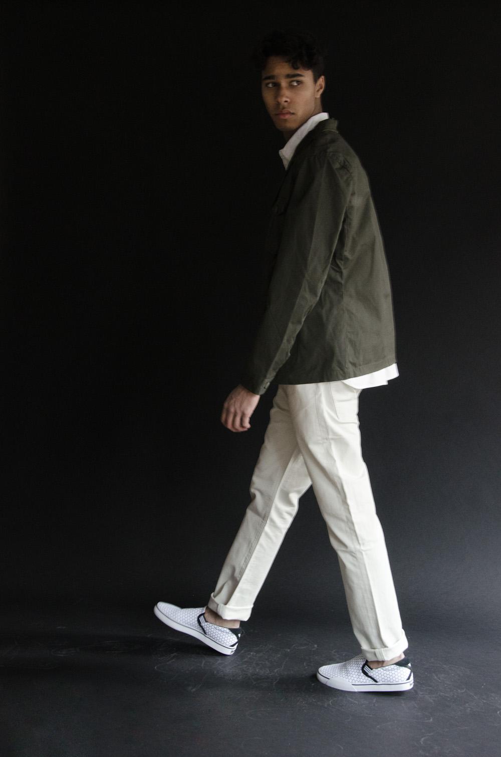 Deus The Stan Shirt    Penfield Reddington Blazer    Adidas  Gonz Slip-On