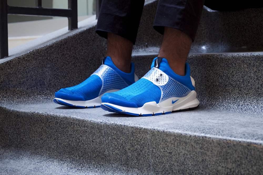 fragment design x Nike Sock Dart Photo Blue OTH