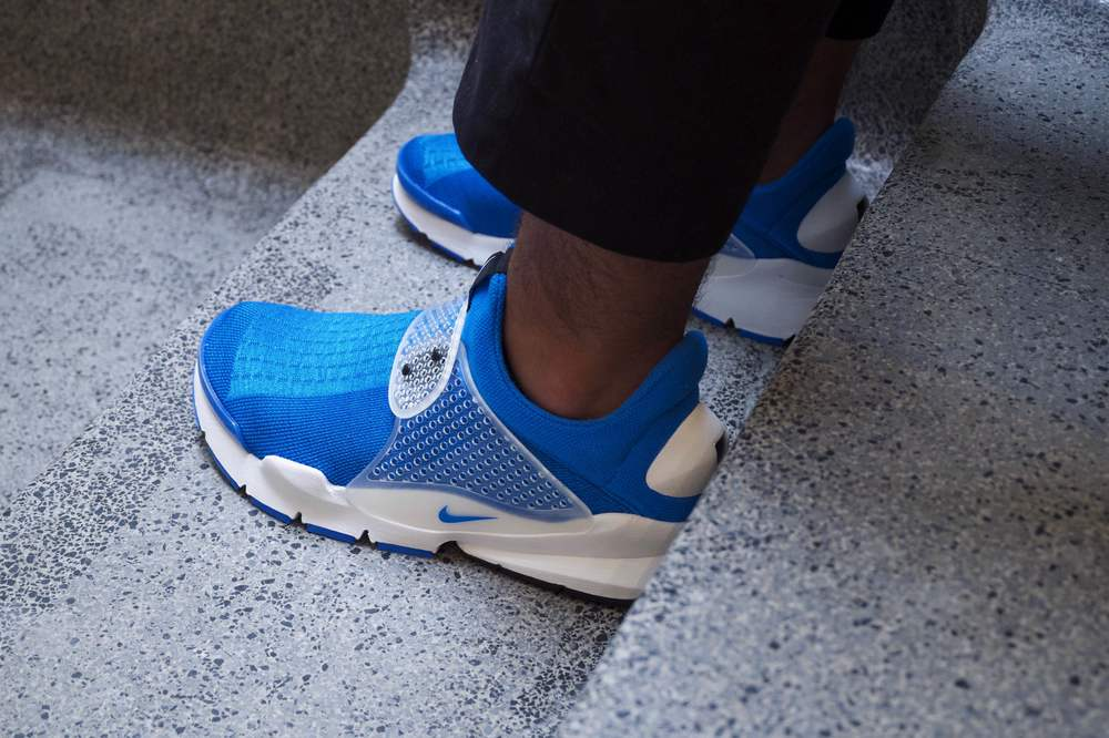 fragment design x Nike Sock Dart photo blue OTH