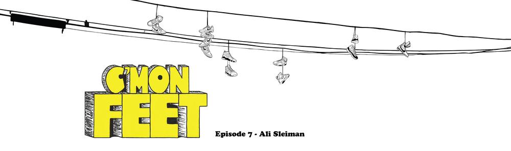 C'mon Feet Ali Sleiman OTH Banner