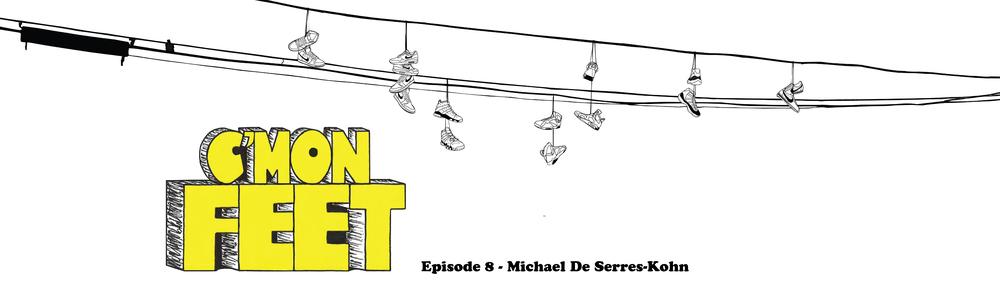 Cmon Feet Michael DSK banner