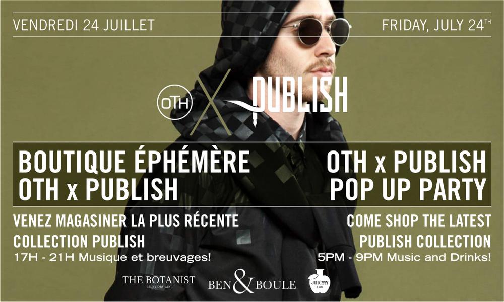 Publish x OTH Flyer