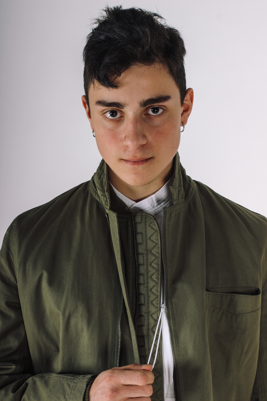 Top: maharishi    Helmand Kurta Shirt    Jacket: maharishi    MA Zipped Blazer Jacket