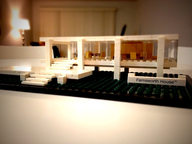 The latest in my Lego architecture collection. This model is so incredibly well-conceived. Fun putting it together and really fun to see completed.