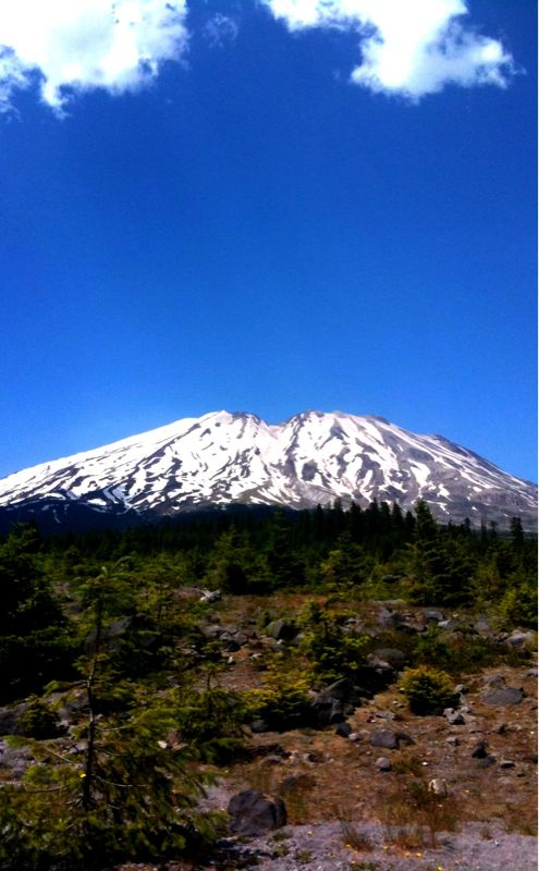Mount St. Helens, south face