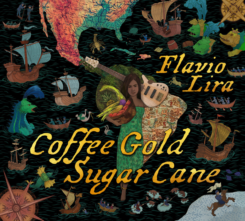 "Front Cover : ""Coffee Gold Sugar Cane"" by Flavio Lira"