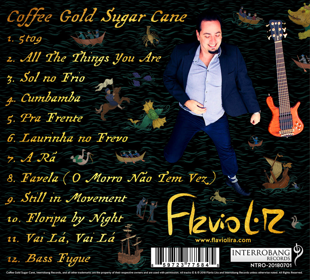 "Back Cover : ""Coffee Gold Sugar Cane"" by Flavio Lira"