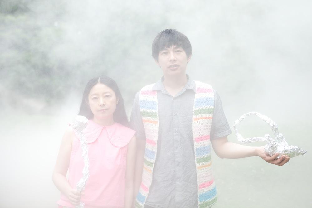 Dustin Wong   Takako Minekawa - Dustin Wong and Takako Minekawa by Hiromi Shinada - dustintakako16.jpg