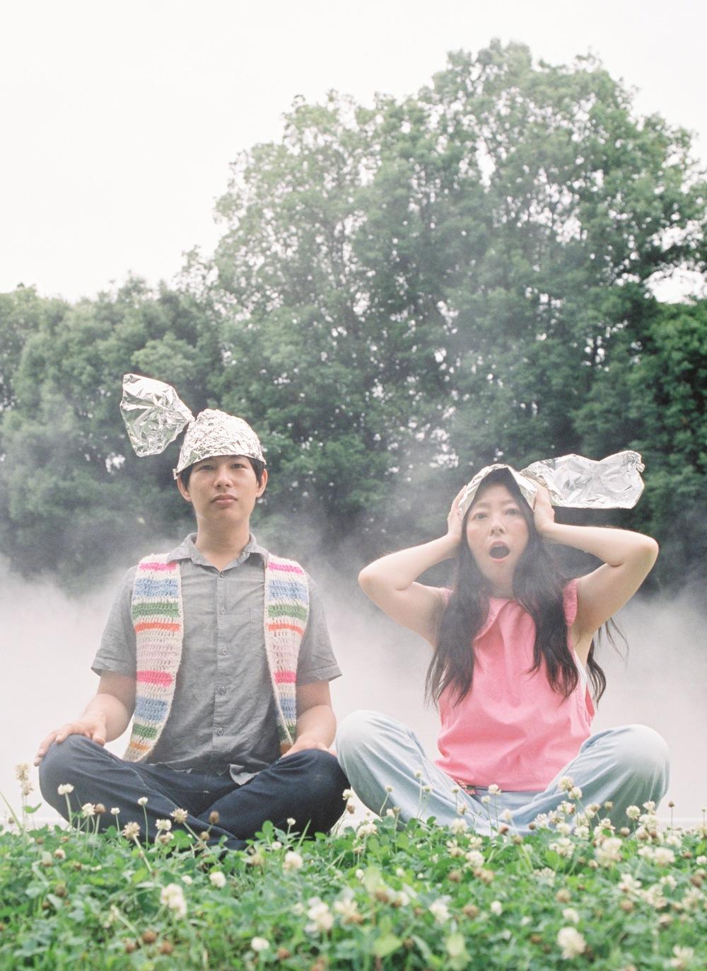 Dustin Wong   Takako Minekawa - Dustin Wong and Takako Minekawa by Hiromi Shinada - dustintakako23f.jpg