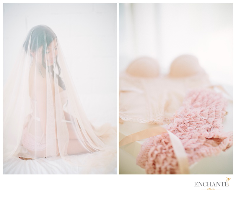 laces, tulles, pastels & blush, chiffons, and other soft fabrics are great for 'lumiere' style shoots
