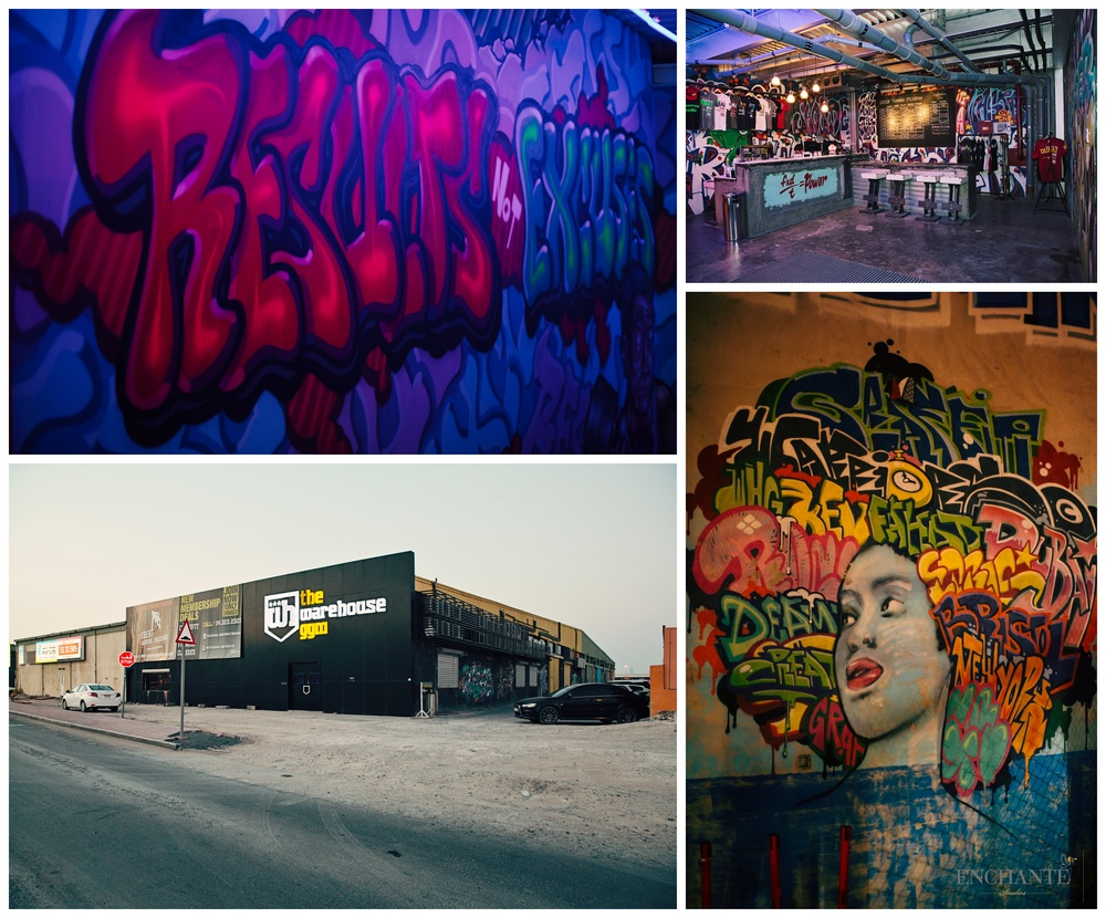 The Warehouse Gym  - The amazing venue we got really excited about! Art and fitness fusion in one roof.