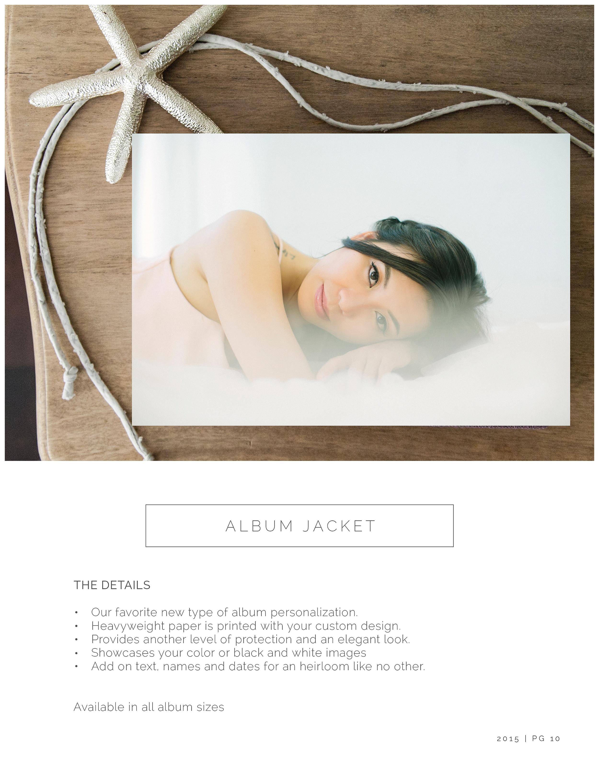 fineart albums — Portrait Couture by Enchanté Studios