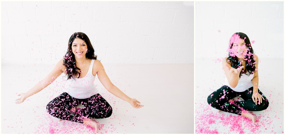 Last but not the least, we ended up our session with a fun confetti bang!