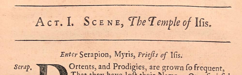 All For Love (1678), D2229, Folger Shakespeare Library.