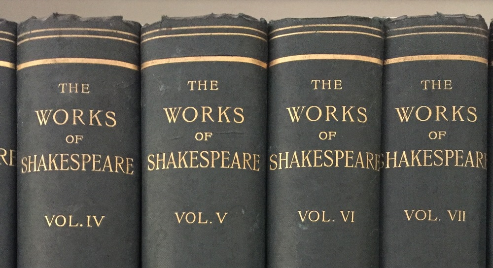 The Works of Shakespeare , personal collection