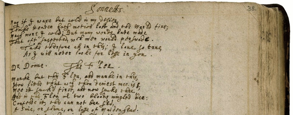 One of the most popular pages at the VCU-Folger EMMO transcribathon: MS V.a.103, 38r, Folger Shakespeare Library (via LUNA)