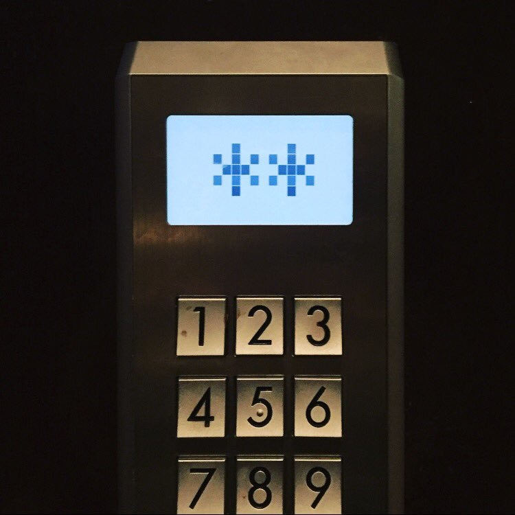 Asterisks (+ Elevator Keypad)