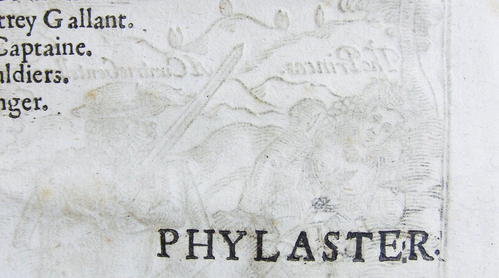 Detail of  Phylaster  (1620), Malone 783, Bodleian Library