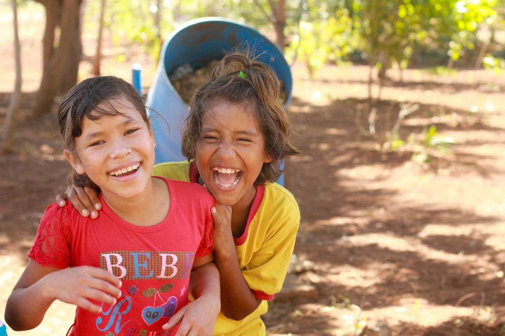 Girls in Nicaragua January 2013