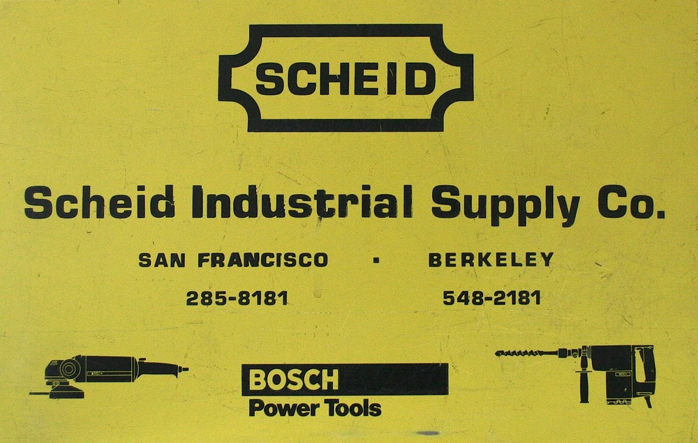 Original Tool Box from Scheid Industrial