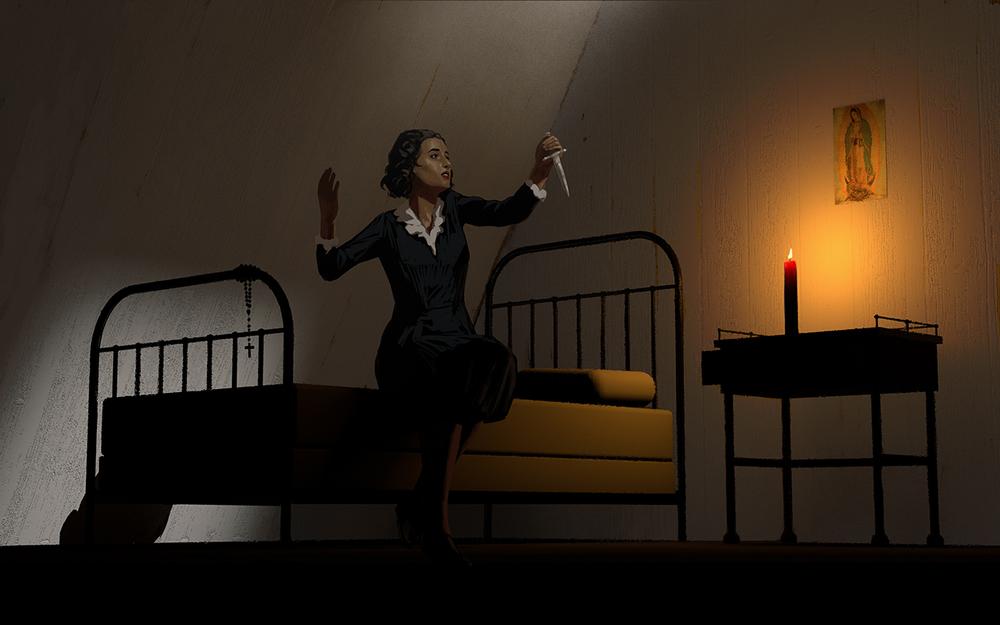 The Widow Florentina Muraña