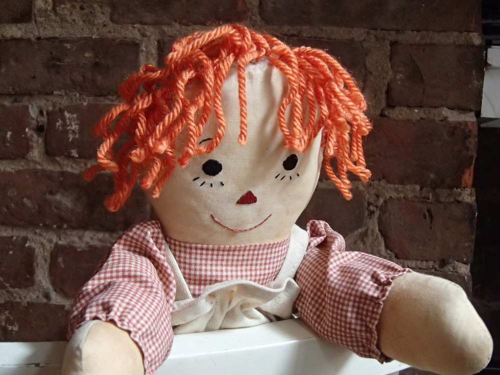 Raggedy Ann - Freshly Repaired