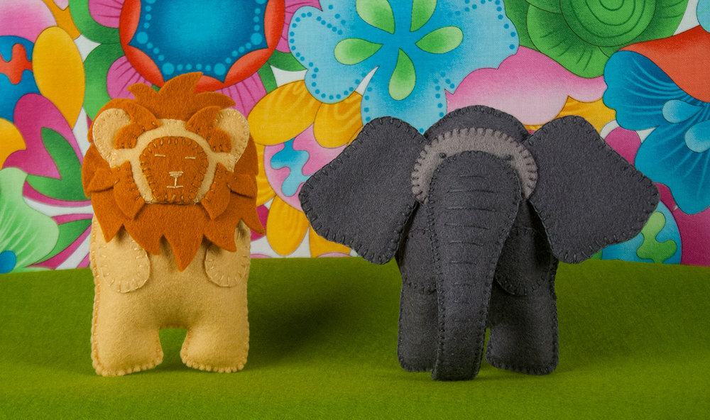 Luke & Ellie - King & Queen of the Jungle Pattern Bundle