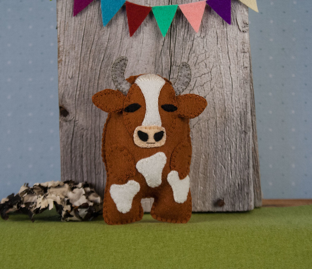 A new sewing pattern bessie the cow oliver rabbit a new sewing pattern bessie the cow jeuxipadfo Images