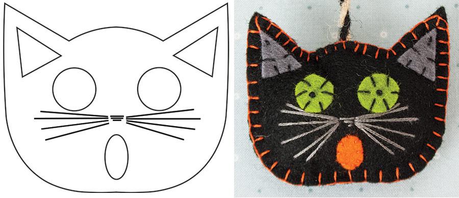 SPOOKY CAT DETAILS