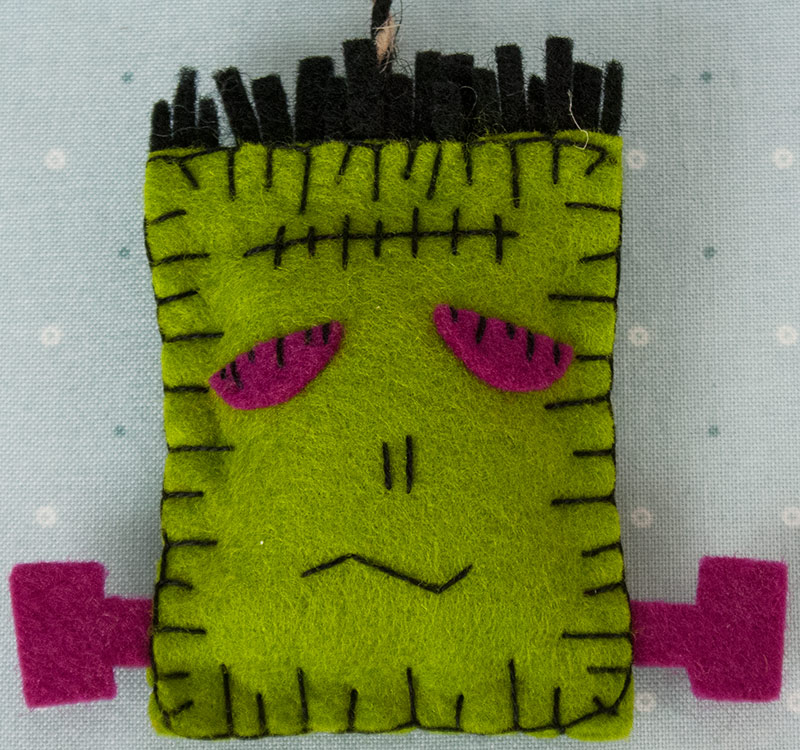 FRANKENSTEIN FINISHED