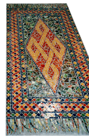 Rug Design Mosaic