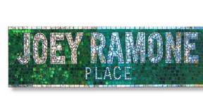 Mosaic Street Sign NYC
