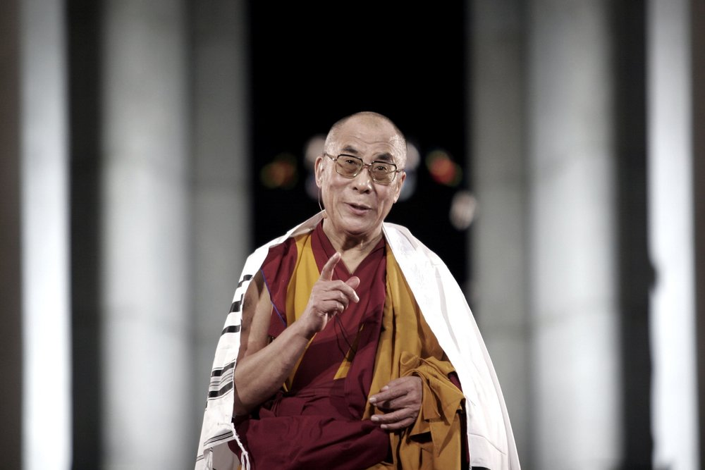 Dalai Lama, religious figure and activist
