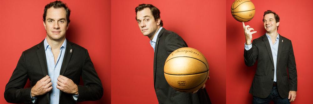 Arnon de Mello, NBA VP Latin America